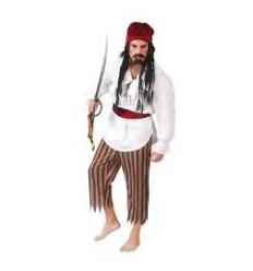 Costume Carnevale PIRATA CORSARO TG.UNICA cod.80511