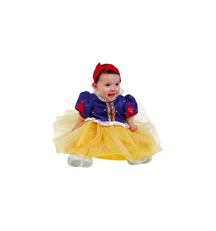codice promozionale miglior posto per super popolare Costume Carnevale Biancaneve Baby Originale Cesar Offerta TG 3/12 mesi ed  1/3 anni