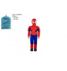 Costume Carnevale Super Eroe Bambino Uomo Ragno 1- 2 Anni